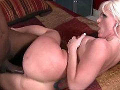 Kaylee Brookshire has huge tits, a thick ass and a juicy pink pussy.See her here getting that pussy fucked hard by a big black cock deep and hard.Sexy milf loves big black cocks.