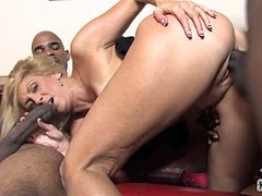For interracial threesome that is presented on our free porn site! Dana Devine a porn star of 20th century in a hardcore comeback!