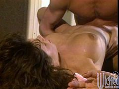 Smoldering Hot Hardcore Fucking and Cumshot in the Hall