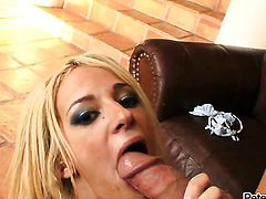 Jada Stevens is one oral slut who gives guys thick schlong a try