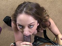 Have fun with this hardcore interracial scene where the slutty Remy LaCroix is fucked by a monster black cock until her pretty face's covered by cum.