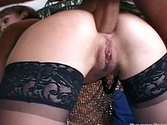 Insatiable hot blooded big booty wenches and feverish freaky dudes played some cruel dirty sex games with each other. They applied some sex items and painfully drilled these bitches all possible ways. Watch this terrific group fuck in Fame Digital porn video!