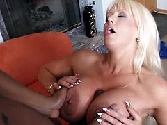 Get a load of this hardcore interracial scene where the smoking hot milf Alura Jenson is fucked by a big black cock that ends up cumming all over her face.