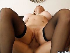 Bruce Venture inserts his love wand in adorably sexy Charlee Chases muff pie