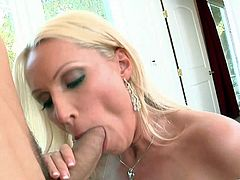 Have fun with this hardcore scene where these horny ladies are fucked by two big cocks in a foursome that'll make you pop a boner.