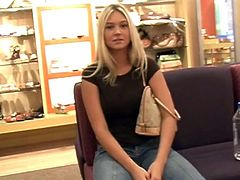 Horny and such a slutty doll Alison Angel is going to takes us with her to the mall. She got a taste and she always looks sexy!