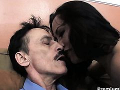 Kristina Rose asks her man to drill her sweet mouth