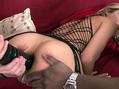 czech whore likes both black & white cocks