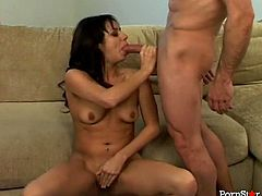 Dark haired slutty ebony whore posed leg spread on sofa and let her blond head whorish kooky eat her saggy thirsting twat completely harshly. Look at this hot pussy party in Pornstar sex video!