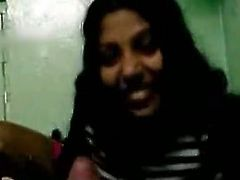 Lusty Indian whore wraps her lovers hard dick with her mouth lips. She sucks intensively showing off her skills. Dirty homemade porn clip presented by The Indian porn.