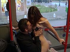 Make sure you have a look at this hardcore scene where the sexy Bonnie is fucked in a public bus while there's passengers inside.