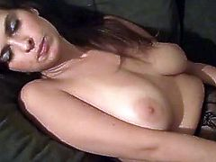 Busty milf Brandon Areana is sucking a dick