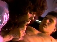 Kinky and attractive chick with curly hair and awesome shape gets her pussy banged and sucks the cock. Watch at this bitch in The Classic Porn xxx clip.