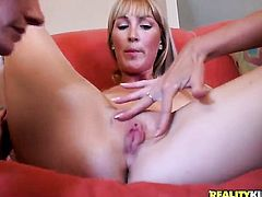 Blonde Brianna Ray satisfies her sexual needs and desires with hard dicked dude (Talk to This Girl