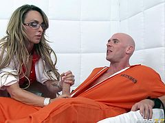 inmate at the psychotherapy