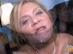 Ginger lynn gets double black dongs