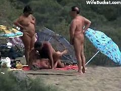 Naked mature couples at the beach. Some people would want to see these bodies around them but others maybe offended, either way just indulge your senses today.