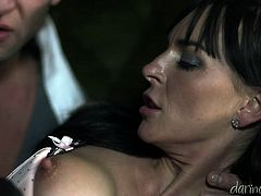 Make sure you have a look at this hardcore scene where a sexy brunette is fucked by a large cock as you hear her moan.