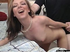 This hot young emo slut loves to get attention. She made a sextape a while back and now she is gonna get a ton of attention because that thing is now on the net.