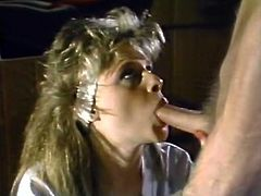 Horny and sexy bitch with nice body and light hair gets her clit polished and sucks the tool in sixty nine pose. Have a look in The Classic Porn xxx clip.