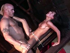 Make sure you have a look at this hardcore scene where the horny Amia Miley is fucked by a big cock as you hear her moan.