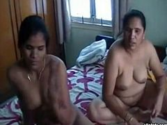 Kinky and filthy brunettes with fat stomachs and dark skin take off their clothes and blow the cock. Have a look in steamy The Indian Porn sex clip.