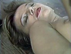 Kinky and sexy whore with nice tits and nice lips gets her dripping cunt fucked in mish pose. Have a look at this chick in The Classic Porn sex video.