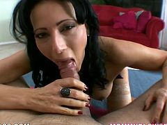 Salacious raven haired whore is an experienced sex doll. She tasted dozen of staff sugary cocks. So solid deep throat is he major hobby. Look at this rapacious tramp in My XXX Pass sex clip!