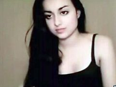 Kinky and slutty dark haired bitch with nice body and great tits is going to show herself naked on cam. Have a look at this bitch in The Indian Porn sex clip.
