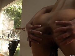 John Stagliano cant resist lustful Cheyenne Jewels acttraction and fucks her bottom like crazy