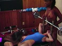 Having trained a while, big assed stacked babes with massive Tatas got tired. Their haired twats starved for snatching. Each of these hotties granted sweet pussy eating to another. Look at these lesbo hotties in The Classic Porn sex clip!