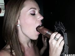 Lizzie Tucker gets her love hole stretched by mans rock solid man meat in steamy interracial action