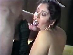 Horny and kinky bitches with nice ass and in sexy stockings suck the cock and get banged. Watch in steamy The Classic Porn xxx clip.