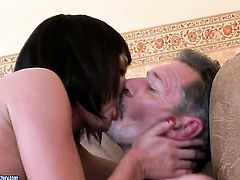 Brunette asian makes her dirty dreams a reality with dudes boner deep down her throat