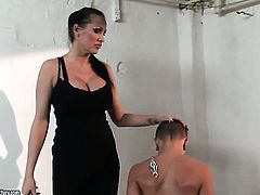 Blonde Sinead licks Mandy Brights twat like it aint no thing in lesbian action