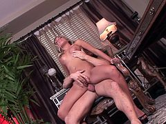 Make sure you have a look at this hardcore scene where the sexy blonde Aubrey Addams is fucked silly by this guy.