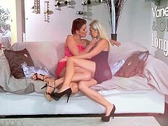Mom.xxx brings you a hell of a free porn video where you can see how blonde and brunette lesbians are ready to party. Watch them munching their sweet cunts into heaven.