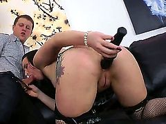 Enjoy wild anal adventures of amazing shameless whore Alice Bellis