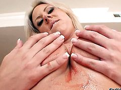Carolyn Reese blows guys ram rod with big desire