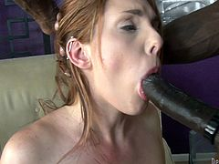 MAke sure you have a look at this hardcore scene where the horny redhead Lilith Lust is fucked by this guy's thick black cock.