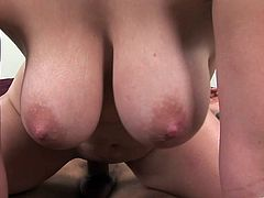 Make sure you take a look at this hardcore scene where the slutty Rucca Page has her big natural tits oil up before being fucked silly.