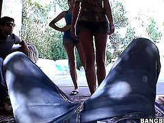 Micah Moore with juicy ass and Juelz Ventura enjoy lesbian sex they wont soon forget