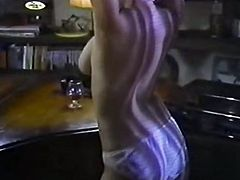 Hussy busty slut seduces pianist and makes him lick pussy