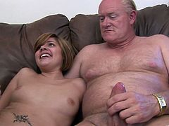 Make sure you have a look at this hardcore scene where the horny Haileey James gets fucked by two guys in a threesome that leaves her out of breath.