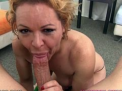 This voracious blond haired dumpster dates one brutal ever hungry BF. He is young enough and his cock always wants to fuck. The mouth of this dumpy bitch forgot what rest is. Look at this lusty bim in My XXX Pass porn video!