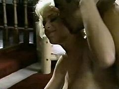 Hot tempered dude fucks big tittied retro slut missionary style. Her juicy tits will drive you crazy. Go for a steamy The Classic porn sex video.
