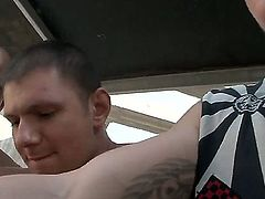 Just watch this breathtaking xxx scene with nasty chick that cant be satisfied by one penis only. She is getting all of her loving holes stuffed by big stiff penises.