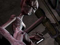 Sci-fi 3D animation from Crazyxxx#Dworld. com