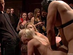 Blondes will always be our favorite, especially if they are so obedient like these ones! These sluts are bent over and ass fucked by a masked guy. The dude is horny as hell and probably waited for a long time to fuck such fine asses. Stick around and see what else these blondes will have to endure!