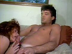 Be ready for good quality retro video featuring hot blonde babe. She gets her appetizing ass fucked doggy style and then moans like crazy while sex partner fucks her twat in missionary pose.